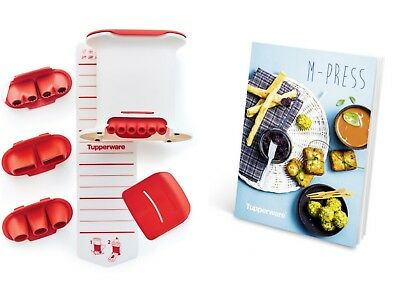 Set M Press (4 boquillas) Tupperware® CROQUETERO! + RECETARIO !! OFERTON!!!!