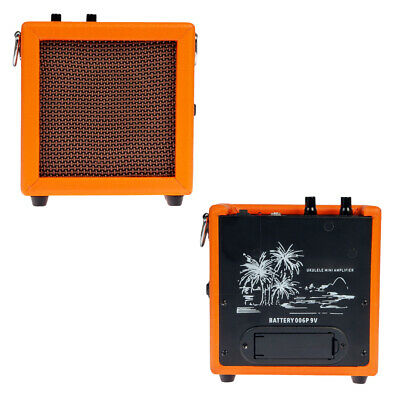 Orange Mini Guitars Practice Amp Amplifier Musical Instrument Accessory