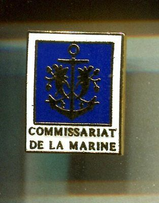 Rare Pins Pin's .. Armee Army Marine Navy Bateau Boat Commissariat Brest 29 ~Cv