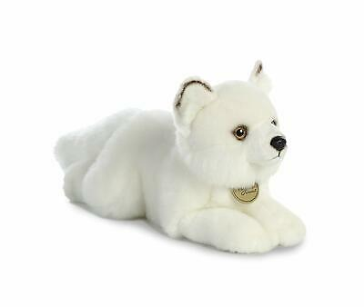 "11"" Medium Arctic Fox Aurora Plush Miyoni Stuffed Animal"