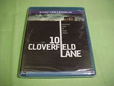 10 Cloverfield Lane - New & Sealed - (Blu-ray Disc, 2016) - (40)