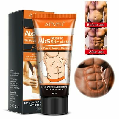 ABS Muscle Stimulator Cream Abdominal Six Pack Toner LongLasting Stronger Muscle