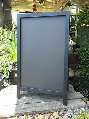 Black A Frame Chalkboard Blackboard Menu Board Specials Prices Restaurant Cafe