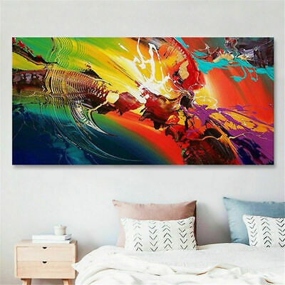 VV108 Home Decoration Large 100% Hand-painted abstract art oil painting Unframed