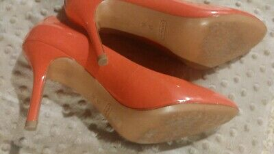 31cf858cf0d COACH • PINK Patent Leather Heels Regular Size 7 - $45.00 | PicClick