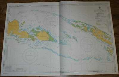 Nautical Chart No. 1709 South Pacific Ocean - Solomon Islands, Manning Strait
