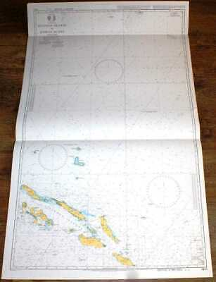 Nautical Chart No. 4623 Pacific Ocean - Solomon Islands to Kosrae Island