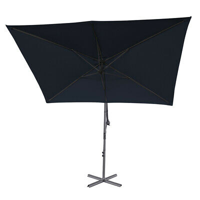 CANOPY ONLY FOR 3 3m x 2 4m Rectangular Cantilever Parasol 8 Spoke