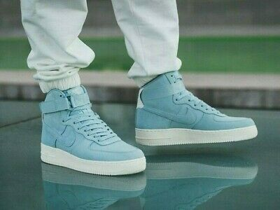 hot sale online 29999 87124 Mens Nike Air Force 1 High  07 Suede Size 9 Eur 44 (Aq8649 400