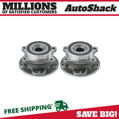 Front Pair (2) Wheel Hub Bearing Assembly Fits 15-2017 Chrysler 200 13-2016 Dart