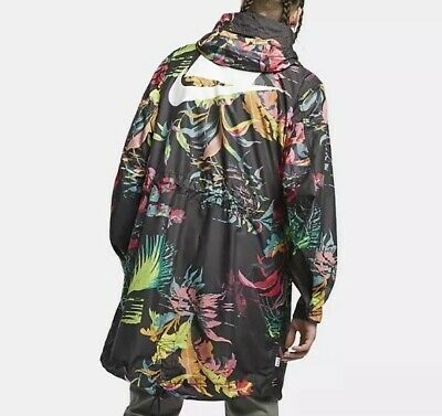 8ae51d4f58 Nike Sportswear NSW Printed Parka jacket mens colored NEW AR1598-389 Size  Large