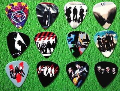 U2 Guitar Plectrum Picks 0.71Mm Limited Edition