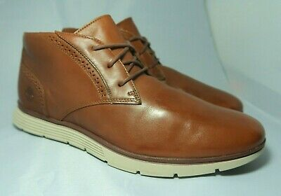 TIMBERLAND FRANKLIN PARK BROGUE CHUKKA Men's Brown Boots UK