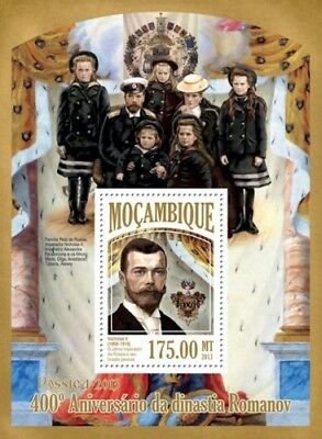 Mozambique 2013 Sheet Mnh Romanov Dynasty 4A