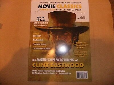 CINEMA RETRO MOVIE CLASSICS 5 CLINT EASTWOOD WESTERNS SPECIAL 9 films 116 pages