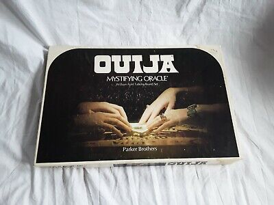 Ouija Board 1972 Parker Brothers Board Game Mystifying Oracle William Fuld.