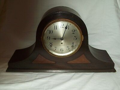 Vintage ~ Seth Thomas ~ Chiming Mantle / Shelf Clock ~ Working Condition