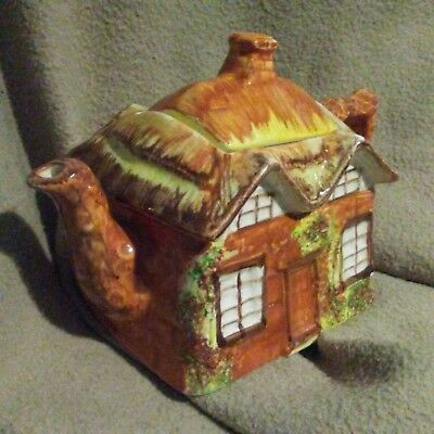 Vintage Hand Painted PRICE KENSINGTON Cottage Ware TEAPOT - Made in England