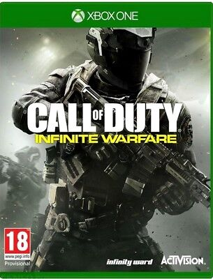 CALL OF DUTY INFINITY WARFARE Game Xbox ONE PAL Fast Post UK