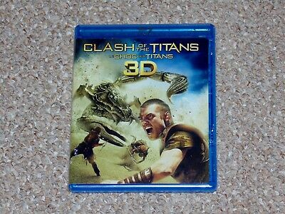 Clash of the Titans 3D Blu-ray/DVD Combo 2010 Brand New Canadian