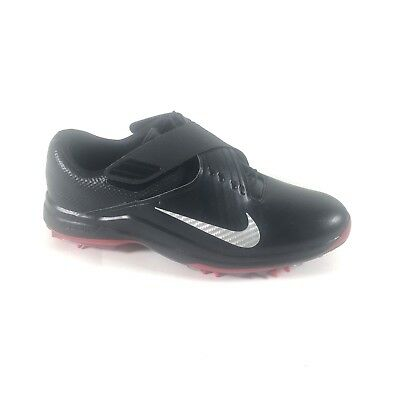 e761d9a1ce9b09 Nike Tiger Woods TW17 Size 10 Golf Shoes Cleats Black Red 880955-001  200
