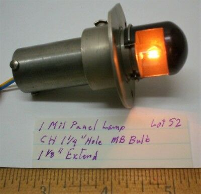 1 New Military Panel Illuminator, Retractable, Stainless, Lot 52, Made in USA
