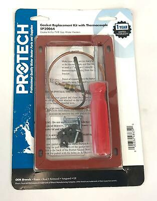 New PROTECH Gasket Thermocouple Replacement Kit FVIR Gas Water Heaters SP20064