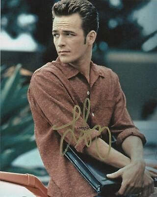 Luke Perry #8 Reprint 8X10 Photo Signed Autographed 90210 Riverdale Man Cave