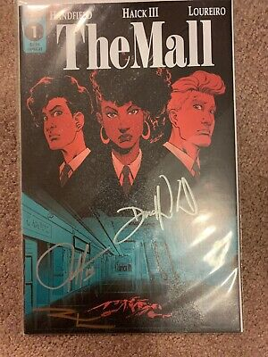The Mall #2 Variant 1:10 Comic Book Scout Optioned