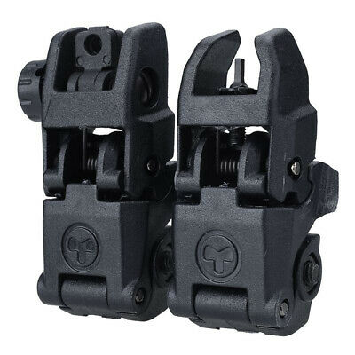 Outdoor Tactical Folding Front Rear Flip Up Backup Sights Appearance Change G8O8