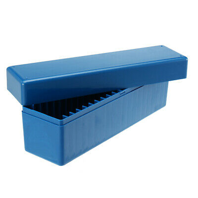 Blue Storage Tool Box Case Holds 20 Individual Certified PCGS NGC ICG Coin Holde