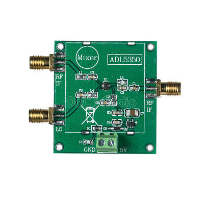 IF LO Port ADL5350 Module Low Frequency 10Mhz-4GHz high-linearity Mixer RF