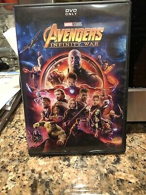 Avengers: Infinity War (DVD, 2018) Brand NEW* Action, Adventure, *FREE SHIPPING!