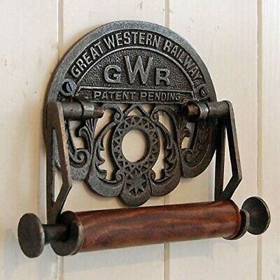 Traditional vintage design victorian wall mounted toilet loo roll holder