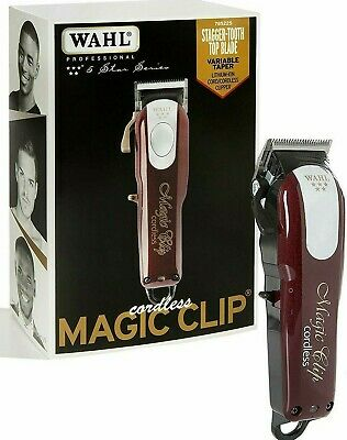 Wahl Cordless Magic Clip - Tondeuse Pro / Clipper - Great for Barbers & Stylists