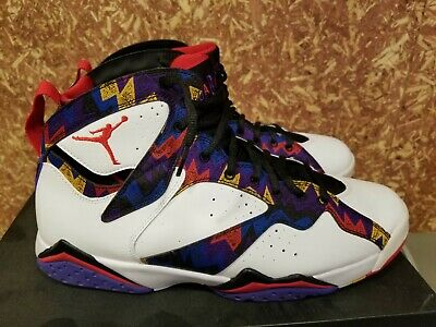 7462eb7ffeee70 NIKE AIR JORDAN VII 7 Retro Ugly Sweater Nothing But Net 7 Mens Size ...