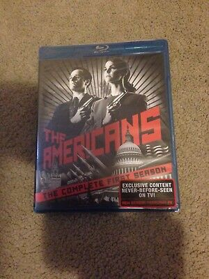 The Americans The Complete First Season Blu-ray Disc 3-Disc Set NEW