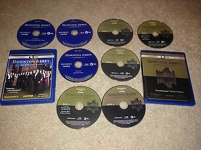 PBS DOWNTON ABBEY SEASONS ONE TWO  THREE 1 2 3 Blu-ray Disc
