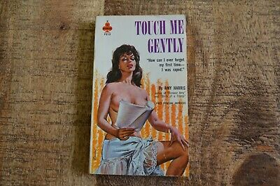 Touch Me Gently by Amy Harris Midwood F212 Pulp Sleaze Paperback 1962