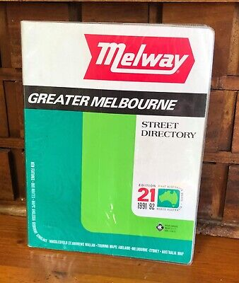 Vintage Edition 21 Greater Melbourne Melway Street Directory 1991/1992 Maps