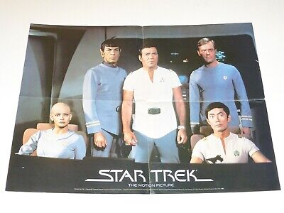 Star Trek The Motion Picture 1979 Xerox Read a Book Promotional Poster 24x18