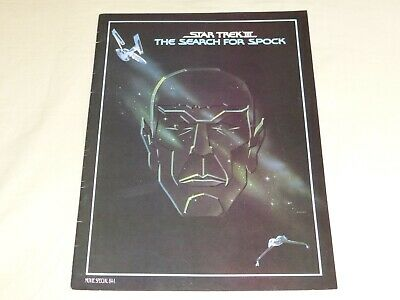 Star Trek III The Search for Spock Souvenir Program Booklet 9x12 Movie Special