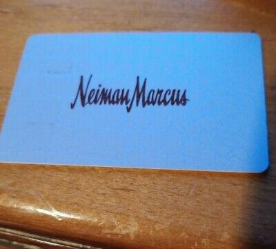 Neiman Marcus Physical Gift Card- $47.40 Balance USPS 1st Class Mail Delivery