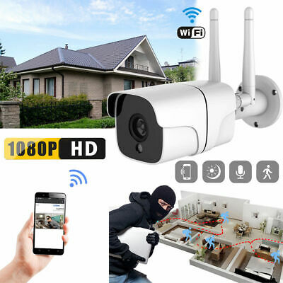 1080P Waterproof Wireless WIFI IP Camera Outdoor IR Night Vision Home Security