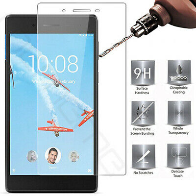 "For 7"" 8"" Lenovo Tab 2 3 4 7 E7 E8 Tablet Tempered Glass Screen Protector Film"