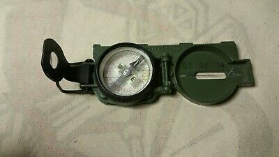 Military Tritium Lensatic Compass Model 3H Cammenga Olive U S Army Parts  only ceb4856f6ec5