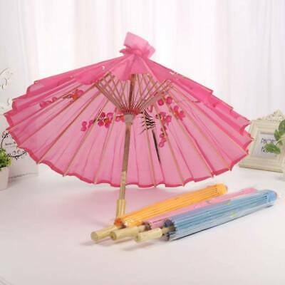 Chinese Oil Paper Umbrella Parasol Dance Wedding  Ceiling Decoration Photo Props