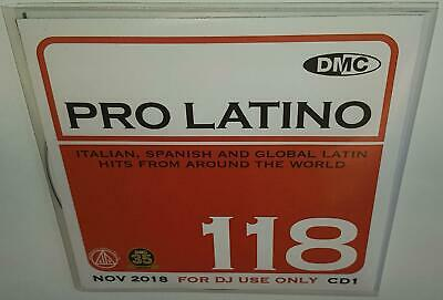 Dmc Presents Pro Latino 118 November 2018 Brand New 2Cd Dj Remix Service