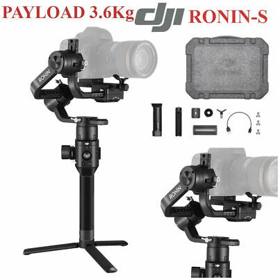 DJI RONIN-S Superior 3-Axis Handheld Gimbal Stabilizer In Hand Essentials Kit BS