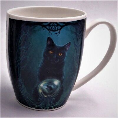 Rise of the Witches Cat - Lisa Parker (New Bone China) Mug - Brand New Design